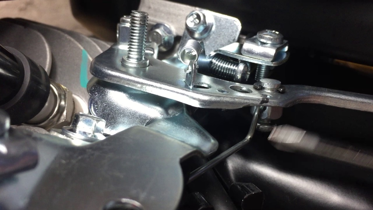 Predator 212cc Throttle Linkage After Governor Removal