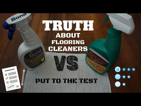 Bona or Bruce Wood & Laminate Floor Cleaner - Review - Tested -  How to Clean Wood & Laminate floor