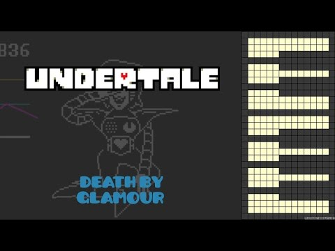 Undertale - Death By Glamour [Piano Cover]