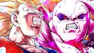 (Dragon Ball Legends) 14.5k Crystals! Summons For LF Goku and Kid Buu!