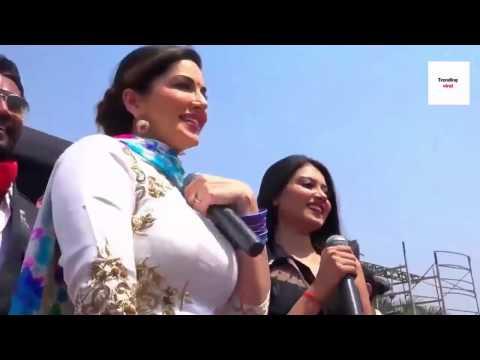 सनी लियॉन डांस सपना के साथ   Sunny Leone Dance With Sapna