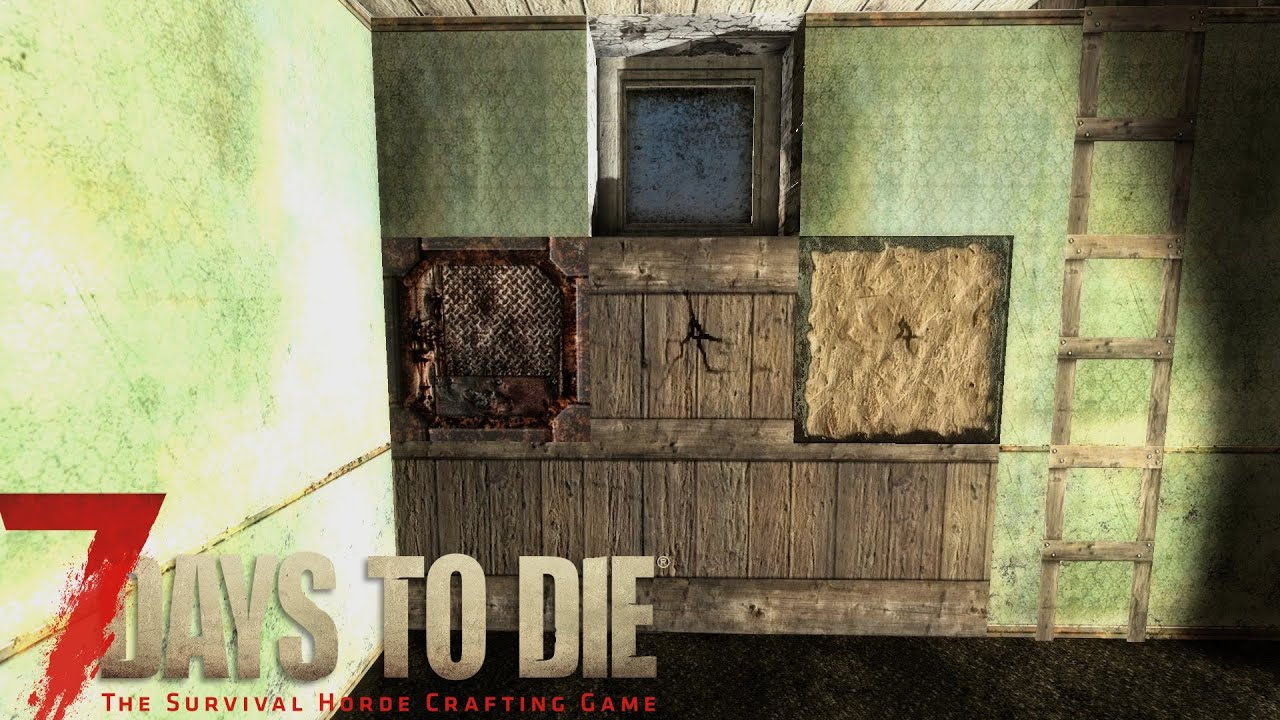 7 days to die tutorial reinforcing your house walls youtube