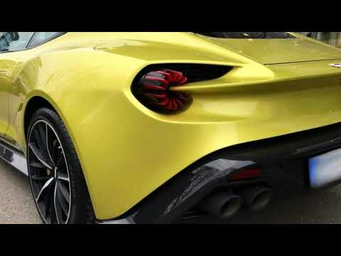 Yellow Aston Martin Vanquish Zagato Is An $880k Piece Of Art  |Test Drive, Review and Price