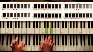 How to play: Happy - Pharrell. Original Piano lesson. Tutorial by Piano Couture.