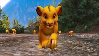 the lion king - Simba versus tiger