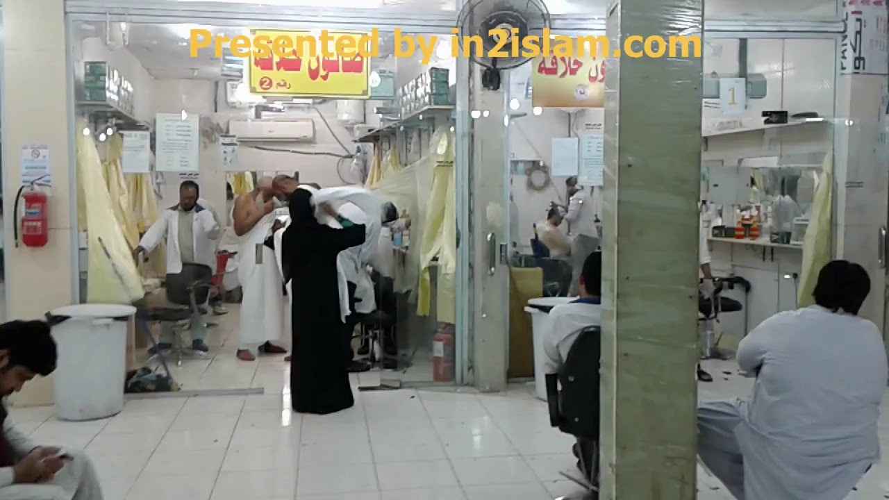 Umrah Guide Location of Barber Shops and Hair Cutting