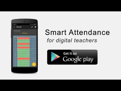 Smart Attendance Android App - YouTube