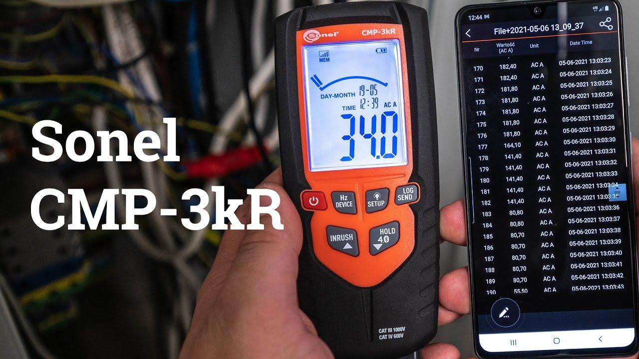 Novo Produto: SONEL CMP - 3kR
