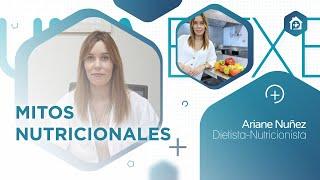 Charla sobre #MitosNutricionales de la Dietista-Nutricionista Ariane Nuñez