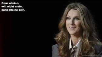 Celine Dion - All By Myself (Deutsche Übersetzung)