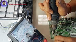 ЛГ 24 дошка РК-MT48A ніякої влади. Як відремонтувати LG і ніяка сила.