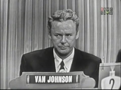What's My Line? - Van Johnson; Mary Healy [panel] (May 22, 1955)