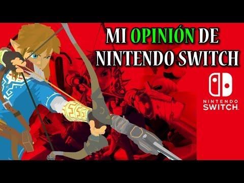 Nintendo Switch - Mi opinión de la consola y sus juegos: Xenoblade 2, Super Mario Odyssey, SMT...