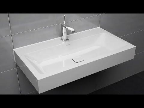 wall hung washbasin installation cono centro and silenio kaldewei