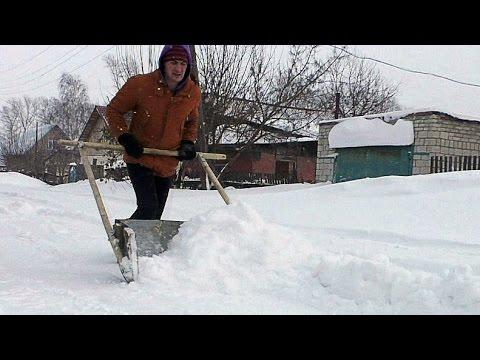 Снеготолкатель на колесах своими руками 130