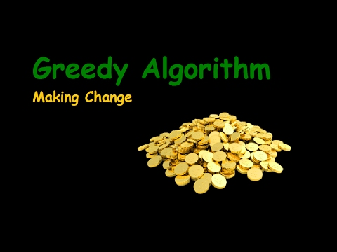 C Program Greedy Algorithm Efficient (Making Change)