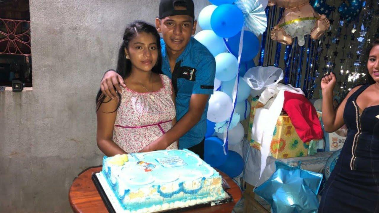 CH¡NA y Marcos muy Felices parten el Pastel de Baby Shower🥳Asi termina La Fiesta 😊