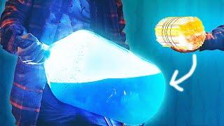 как сделать светящейся воду эксперемент