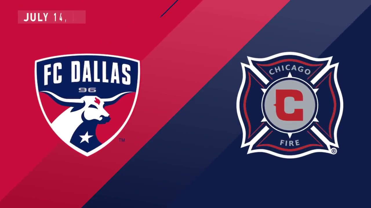 Highlights Fc Dallas Vs Chicago Fire July 14 2018 Youtube