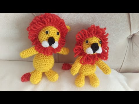 Lion Crochet PATTERN Amigurumi patterns pdf tutorial TYRION | Etsy | 360x480