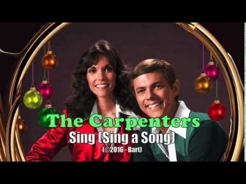 The Carpenters - Sing Sing a Song (Karaoke)