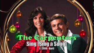 The Carpenters - Sing Sing a Song (Karaoke)
