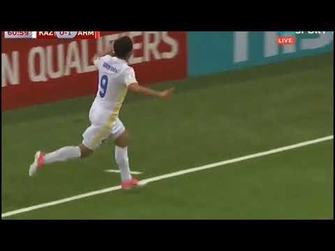 Казахстан 1 1 Армения   Обзор матча   Отборочный матч ЧМ 2018