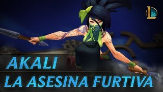 Akali: La Asesina Furtiva | Tráiler de campeón