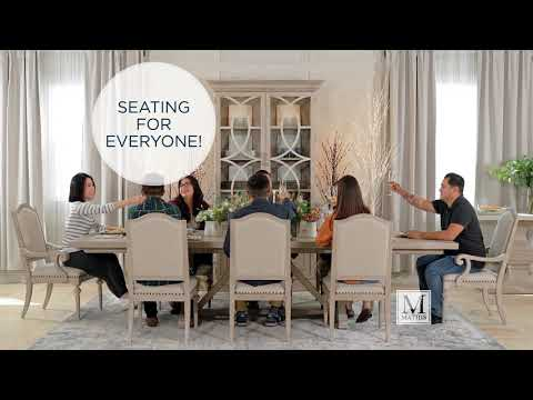 Navy And Gold Dining Room, Fall Savings On The Best Dining Sets Www Mathisbrothers Com Youtube