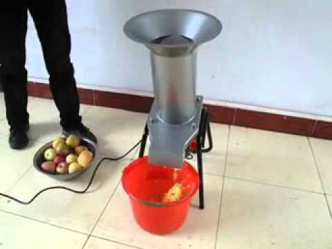 Selections Electric Apple Pulping Machine Youtube