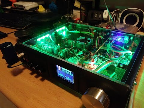3D Printed Radio Project - Arduino, TEA5767 and MSGEQ7 Graphic Equalizer.