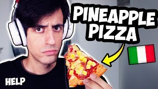 I Eat Pineapple Pizza For The First Time EVER