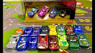 Disney Cars 3 - RARE Next-Gen Racers 4-Pack Unboxing Review & Entire Collection - StopMotion