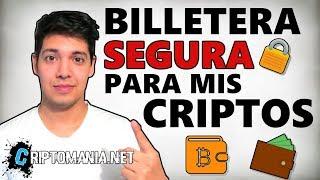 🔒 BILLETERAS CRIPTO [SEGURAS🔑] - MEJORES WALLETs PARA BITCOIN Y ALTCOINS