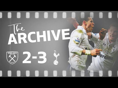 THE ARCHIVE | WEST HAM 2-3 SPURS | Bale worldie seals dramatic last-minute win!