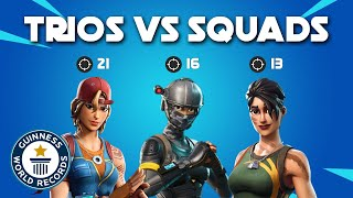 Fortnite World Record Trio vs Squad - 50 Kill Game PS4