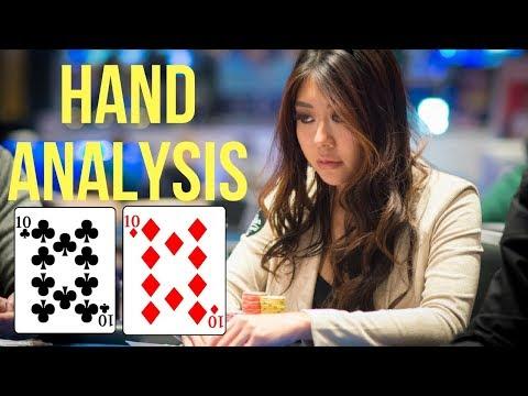 Maria Ho's Analysis Folding 10's With a Set