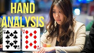 Maria Ho's Analysis Folding 10's With a Set