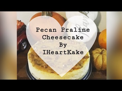 Pecan Praline Cheesecake Recipe!