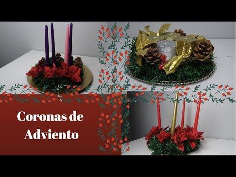DIA 1  CORONAS DE ADVIENTO  25 DIAS DE MANUALIDADES DE NAVIDAD CATOLICAS  CATHOLICCRAFTMAS