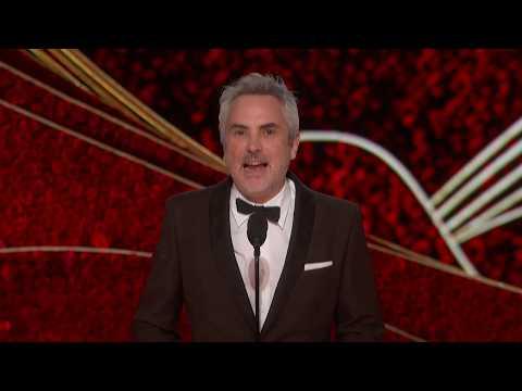 Alfonso Cuarón wins Best Director