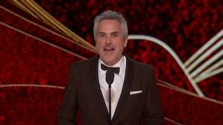 Alfonso Cuarón wins Best Director