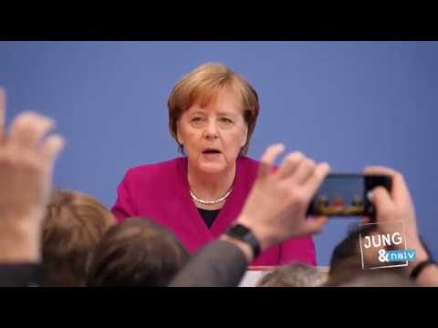 Angela Merkel, Horst Seehofer & Olaf Schäuble zum Koalitionsvertrag - BPK vom 12. März 2018