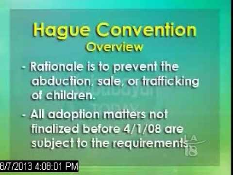 Understanding the Hague Adoption Convention