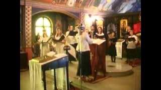 Hor Hrama Sabora Srbskih Svetitelja - Suguba Jektenija