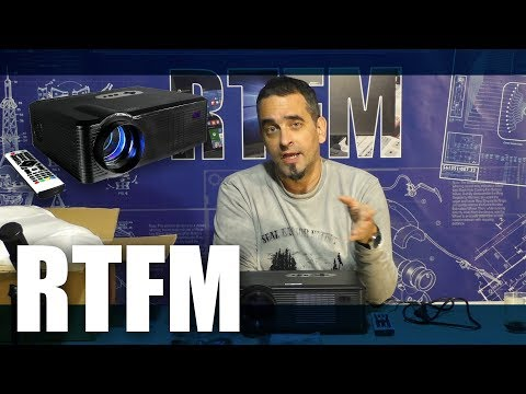 RTFM# 09 - Προβολέας 720p με 120 ευρώ; Excelvan CL720 projector