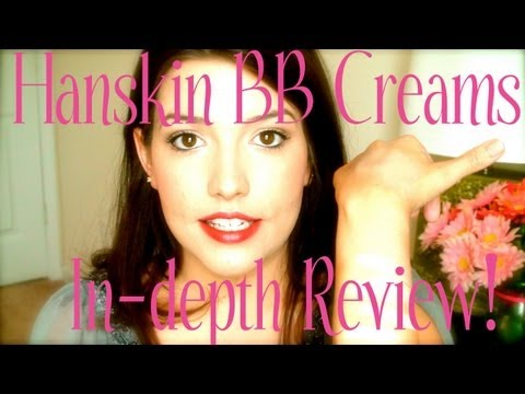 ❤ Hanskin B.B. Creams: Review & Swatches! ❤