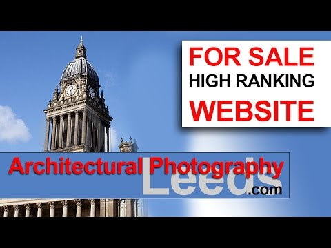 Architectural Photography Leeds | Website FOR SALE | Leeds Architectural Photographer