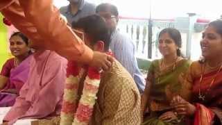 Harini Weds Gaurav  : Engagement Ceremony ( Nichyathartham ) by the Beach @ Ideal Beach Resort