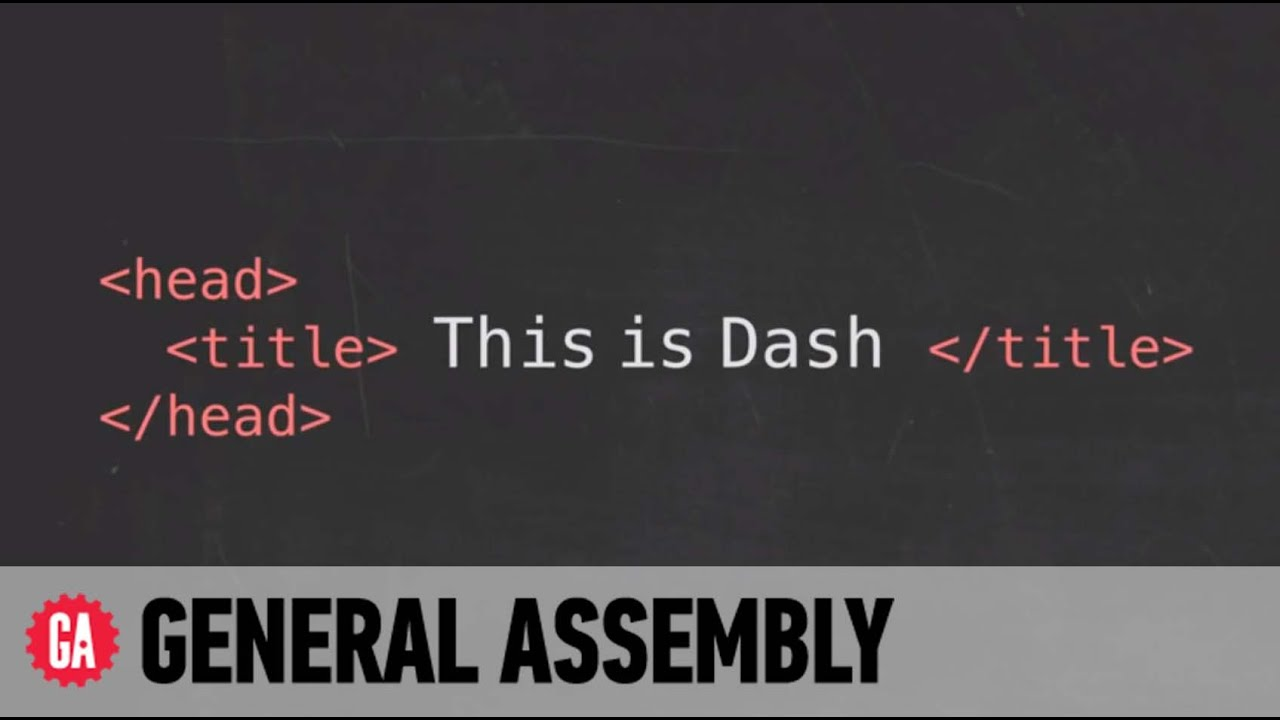 Learn to code HTML, CSS, and JavaScript with Dash
